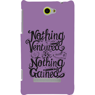 Print Masti Motivated Message For Forget Past And Live Future Design Back Cover For HTC Windows Phone 8S :: HTC 8S