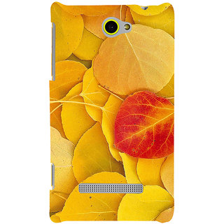 Print Masti Cute Pineapples In Orange Background Design Back Cover For HTC Windows Phone 8S :: HTC 8S