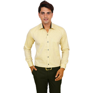 Real Value Mens  Formal SLIM-FIT Cotton Shirts
