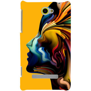 Print Masti Lovely Colorful Checks Design Back Cover For HTC Windows Phone 8S :: HTC 8S