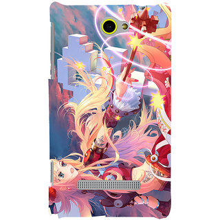 Print Masti Beautiful Sunami In Sea Design Back Cover For HTC Windows Phone 8S :: HTC 8S