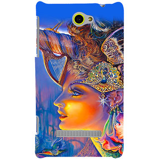 Print Masti Beautiful Dear Is In Jungle In Sunset Design Back Cover For HTC Windows Phone 8S :: HTC 8S