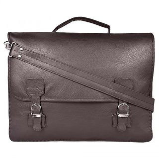 PYFashion Man Ofiice Sling bag With synthetic leather
