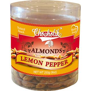 Almonds Lemon Pepper 250gm - Chocholik Dry Fruits