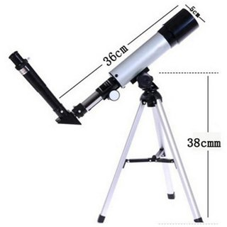 NEW LAND SKY TELESCOPE 90X Refractor Telescope Kit With Tripod Optical Glass Lens And Metal Tube