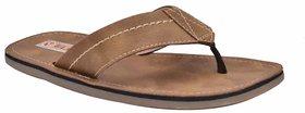 Elixir Men's Beige Slip On Sandal
