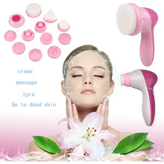 CPEX 12 in 1 Multifunction Electrical Facial Cleansing Brush Face Body Massager