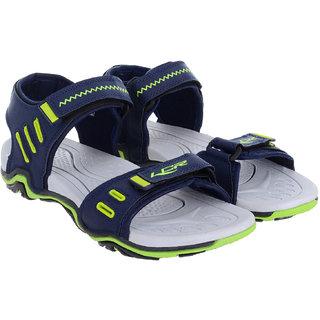 f1a4e0bde00b Buy Lancer Men s Navy   White Velcro Sandals Online - Get 2% Off