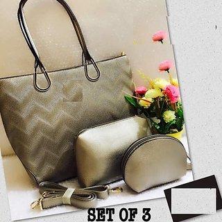 Fashion Hub Women s Handbag (Set of 3) 34d643aa72c7a