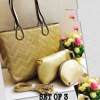 Fashion Hub Women's Handbag (Set of 3)