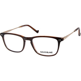 David Blake  Brown Full Rim Wayfarer Unisex Spectacle Frame