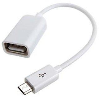 USB OTG Cable - White