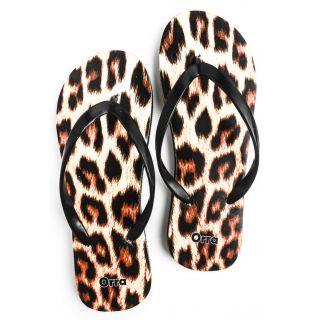 Leopard Style Flip Flop For Women