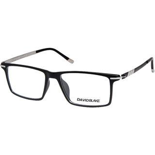 28be7bafdf Buy David Blake Black Full Rim Rectangular Unisex Spectacle Frame Online -  Get 71% Off