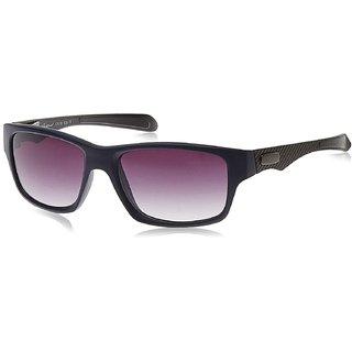 Rockford RF-073-C4 BLUE GREY Purple Rectangular Sunglasses