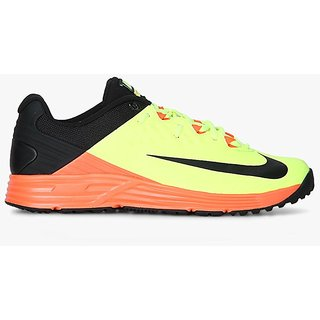 wholesale dealer f71bf bd0dd Nike Men S Potential 3 Volt Black Total Crimson Cricket Shoes