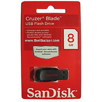 SanDisk Cruzer Blade USB Flash Drive 8 GB