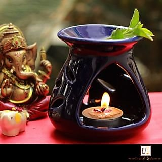Designer Aroma Diffuser With Aroma Oil  Tea Light
