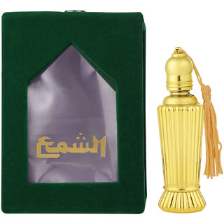 SHAMA Raja Jasmine Series Alcohol Free, Undiluted Natural Attar For Unisex,10 ml Bottle - (Brand Outlet)