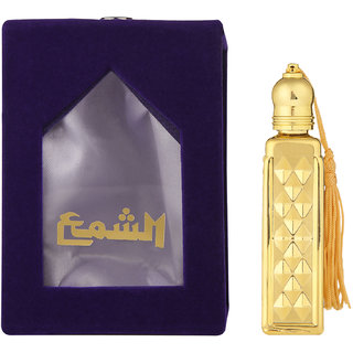 SHAMA Musk-E-Amber Series Alcohol Free, Undiluted Natural Attar For Unisex,10 ml Bottle - (Brand Outlet)