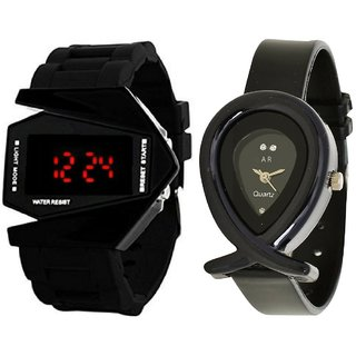 Combo Of Designer Analog And Digital Watch For Men's And Womens