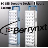 30 Led Automatic Emergency Light AC Rechargeable Battery Backup Handy Chargable