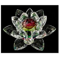 The  Crystal Lotus Is The Most Potent And Popular Enhancer Of Good Luck, A Powerful Magnifier Of Love, Relationship, Harmony And Romance Luck. This Product Is Made From Superb Quality Leaded-crystal. Good Quality Is Important So That When Light Hits T