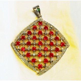designer pendant ( silver ) by aaa trendz
