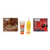 Luster Choco - Wine Facial Kit (Free Gift)