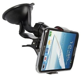 Autosun Universal Car Mobile Stand Windshield Mount Holder (Black)