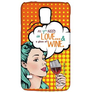 Miss Wine - Sublime Case For Samsung S5