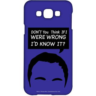 Sheldon Facts  - Sublime Case For Samsung Grand Max