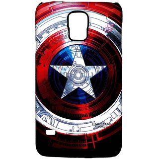 Captains Shield Decoded - Sublime Case For Samsung S5