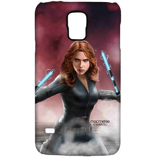 Team Red Black Widow - Sublime Case For Samsung S5