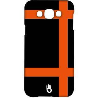 KR Orange Checks - Sublime Case For Samsung Grand Max