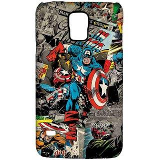 Comic Captain America - Sublime Case For Samsung S5