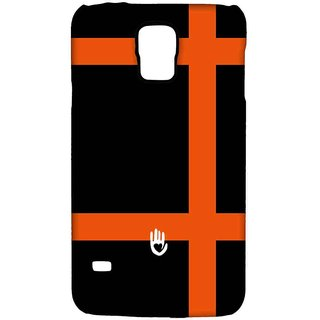 KR Orange Checks - Sublime Case For Samsung S5