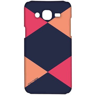 Criss Cross Blupink - Sublime Case For Samsung On7 Pro