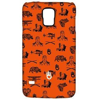 KR Orange Collage - Sublime Case For Samsung S5