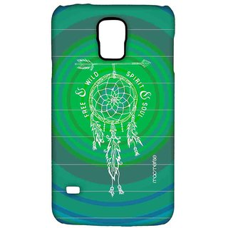 Free Spirit Green Teal - Sublime Case For Samsung S5