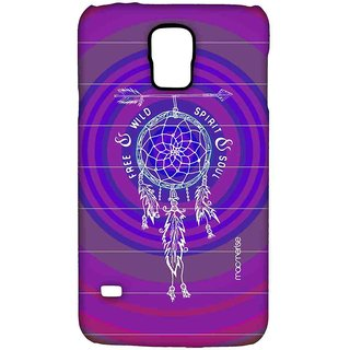 Free Spirit Pink Purple - Sublime Case For Samsung S5