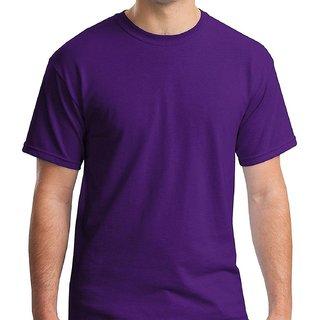 Boys Plain Tshirt Purple