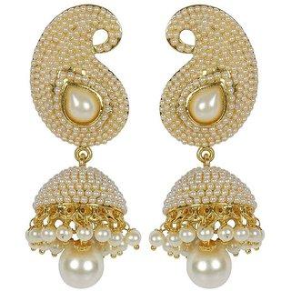 Jewels Gold Party Wear For Wedding Latest Stylish Fancy Jhumki Earring Set For Women  Girls