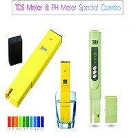 Safeseed Pack of 2 Combo Digital PH meter and TDS meter