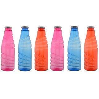 Aarushi Polypropylene Water Bottle Pack of 6 (1000 ml each)