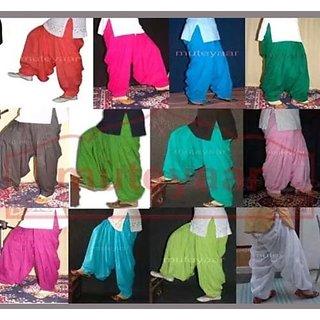 Traditional punjabi full patiala salwar  12 piecs set all color different.