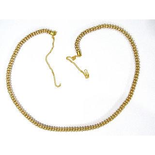 White Pearl Ajgar Waist Belt
