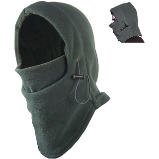 Futaba Thermal Fleece Outdoor Face Mask - Grey