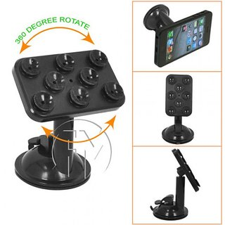 Universal Plastic Smart Spider Suction Cup Mobile Holder 10 Days Seller Warranty