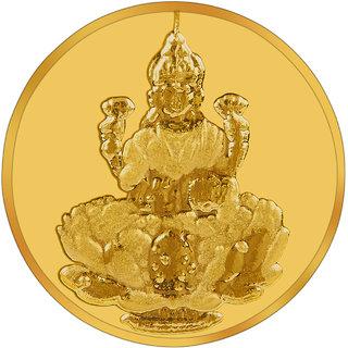 RSBL 1 grams 24k (995) Yellow Gold Laxmi Precious Coin